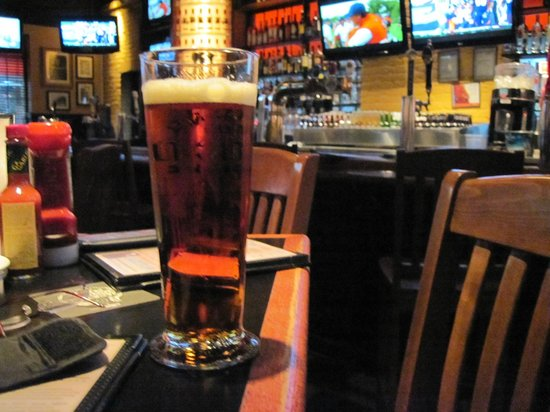 Jack Astor's Bar & Grill : variety of beers on tap