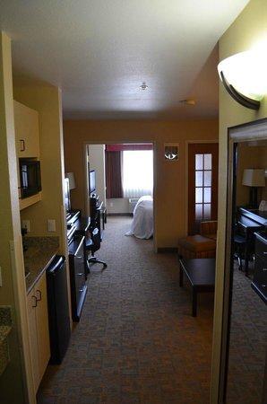 Comfort Suites Denver Tech Center: Blick auf die Suite vom Eingang aus gesehen