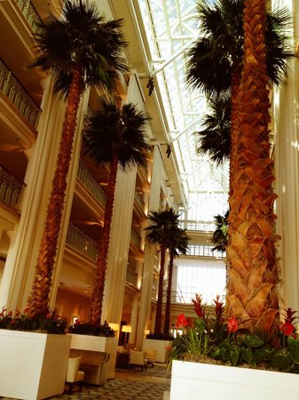 Loews Santa Monica Beach Hotel: Gorgeous Lobby