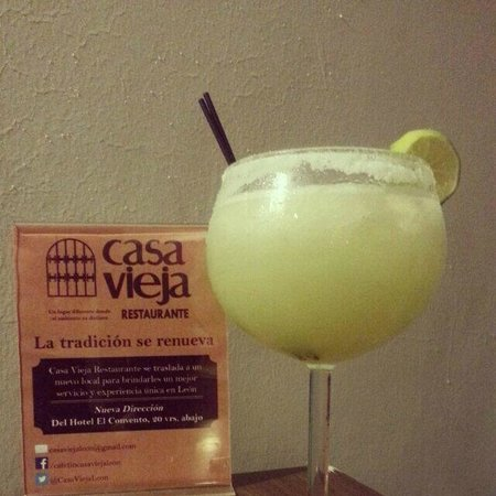 Casa Vieja Restaurante: come and try our delicious margaritas