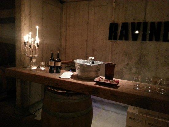 Ravine Vineyard Estate Winery: Private Reserve Tasting