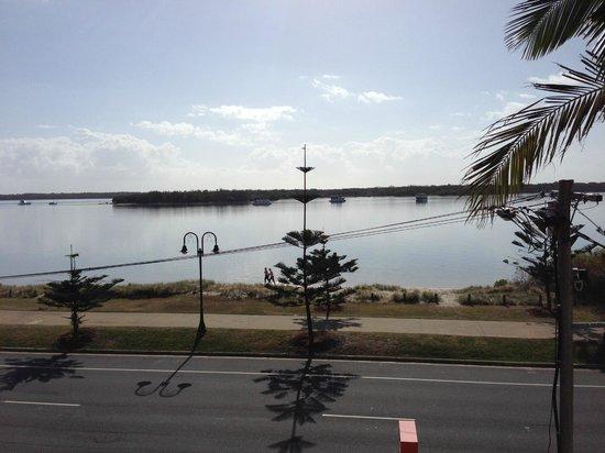 Evening view from Windsurfer Resort
