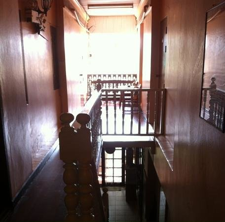 Lavinia House: Stairs and hallway