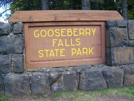 Sign Picture Of Gooseberry Falls State Park Two Harbors