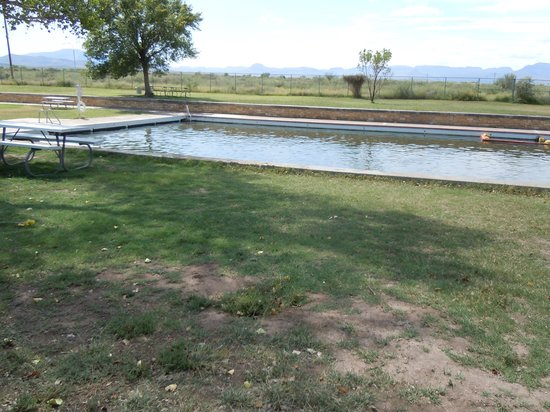 Balmorhea State Park: shallow end