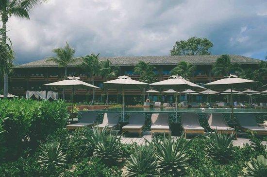 Hansar Samui Resort : view of Hansar from the beach