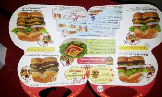 menu picture of best burgers forever restaurant cafe dubai tripadvisor. Black Bedroom Furniture Sets. Home Design Ideas