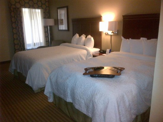 Hampton by Hilton Boca Raton: Nice, clean rooms
