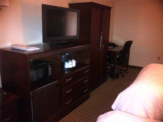Hampton by Hilton Boca Raton: TV, microwave