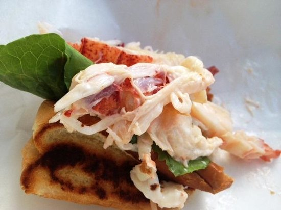 Bartley's Dockside Dining: Best lobster roll ever!