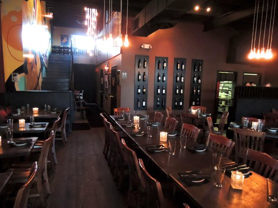 The Iberian Pig: Dining Area