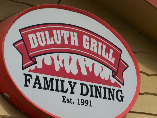 Duluth Grill: Sign