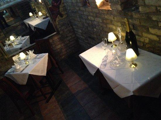 Bellaria Restaurant & Wine Bar: Romanticism is in the air!