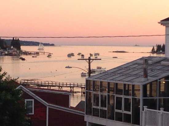 Greenleaf Inn at Boothbay Harbor: It doesn't get much better than this!