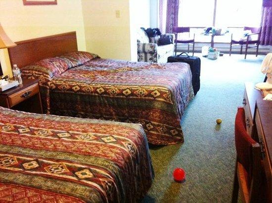 Arrowhead Inn: Nice comfy beds