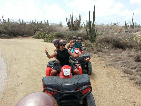 Action Tours Aruba UTV's & ATV's Tours: Had fun