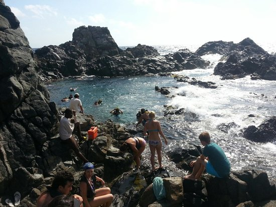 Action Tours Aruba UTV's & ATV's Tours: Natural pool amazing