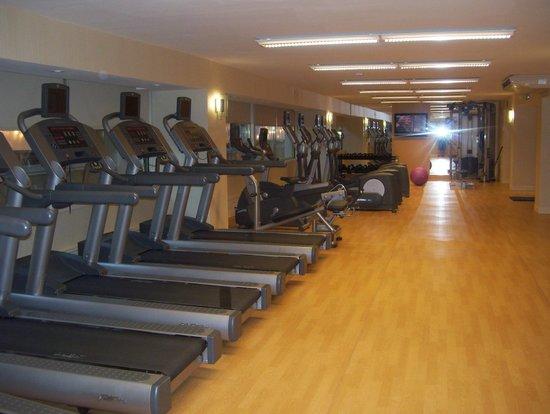 Halifax Marriott Harbourfront Hotel: gym