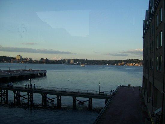Halifax Marriott Harbourfront Hotel: view