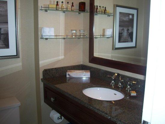 Halifax Marriott Harbourfront Hotel : bathroom