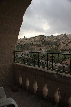 View from balcony at Elif Star Caves