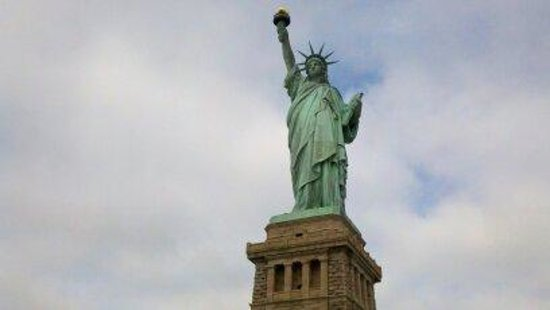 a review of the interesting story of the statue of liberty national monument in the us A protest against us immigration policy forced the evacuation of the statue of liberty on  to the monument's  to let us know of abusive posts.
