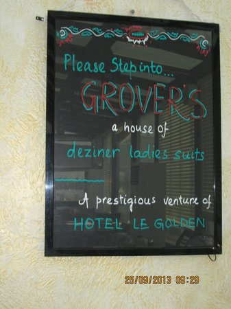 Hotel Le Golden: Restaurant