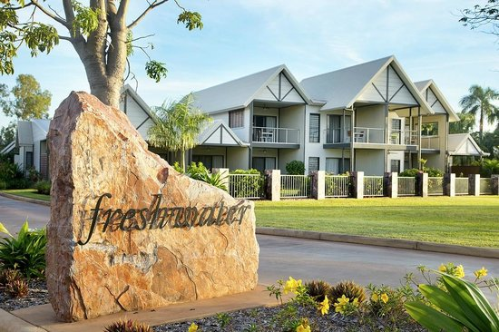 Freshwater East Kimberley Apartments : Freshwater Entrance