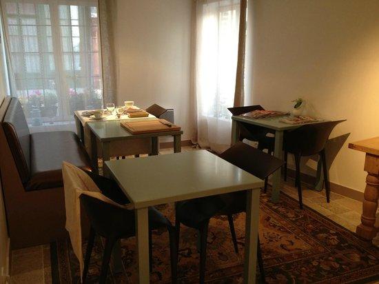 L'Autre Maison : breakfast area