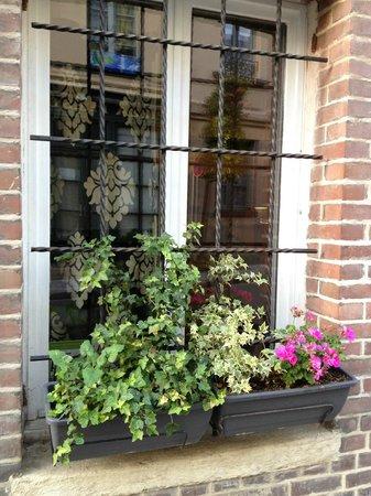 L'Autre Maison: outdoor window