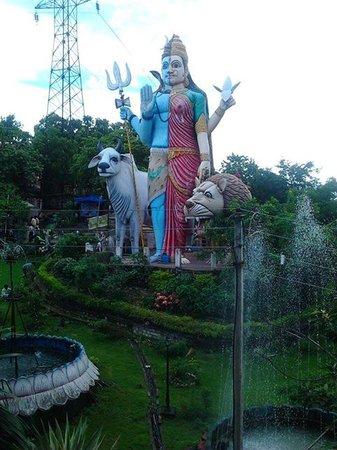 Chandrahasini Devi Temple: ardhnarishwar