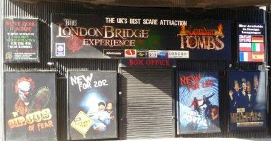 The London Bridge Experience: The entrance