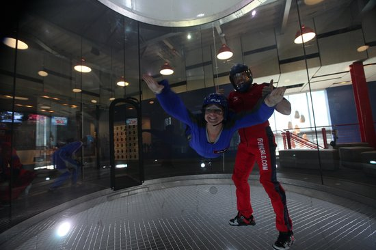 iFLY Indoor Skydiving - Austin: My iFly experience, the smile says it all!