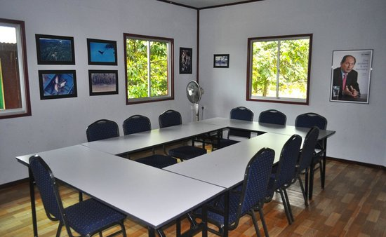 Sukau, Malaysia: Meeting Room