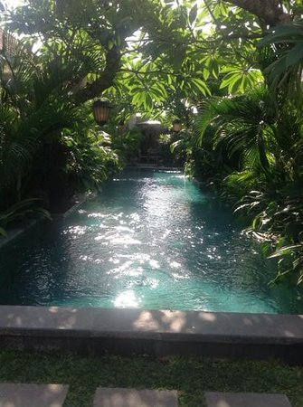 the tranquil pool and surroundings makes Uma Karan the most enjoyable, comfortable, friendly hot