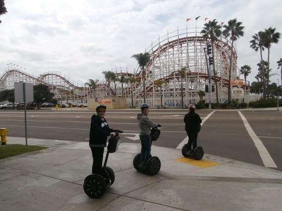 Segway of Pacific Beach: interesting sights