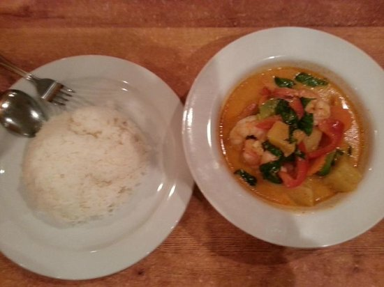 Thai Silk Restaurant: Red Curry