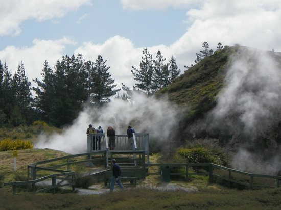 Craters of the Moon : Viewing platform