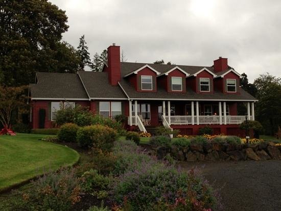 The DreamGiver's Inn : oregon weather... rain forecasted
