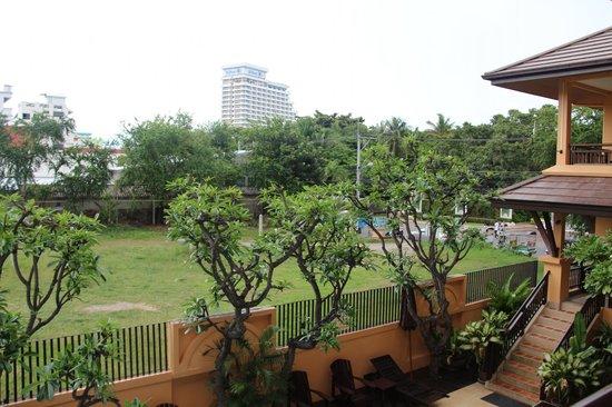 La Maison Hua Hin : Вид из номера второго этажа