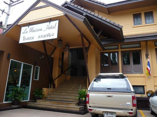 La Maison Hua Hin: Вход в отель