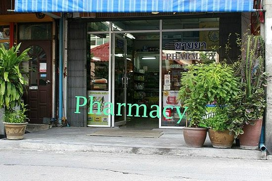 BKK Lumphini Home Stay: How to reach us: Pharmacy (Soi Sri bumphen)