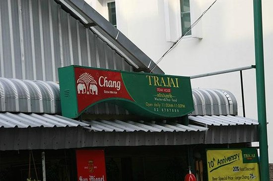 BKK Lumphini Home Stay: How to reach us: Label of steak house