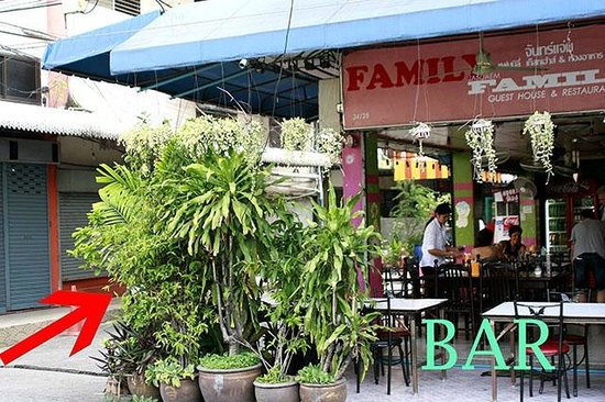 BKK Lumphini Home Stay: How to reach us: BAR (Soi Sri Bumphen)