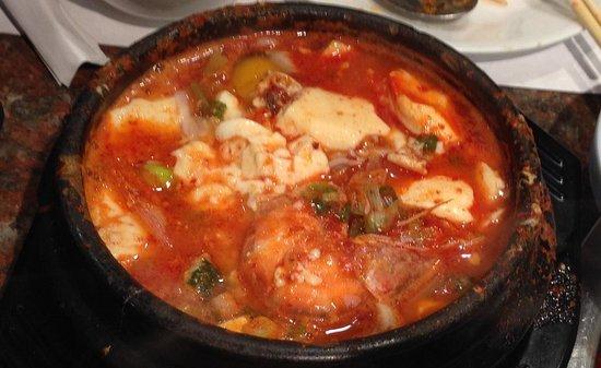Shik Do Rak: spicy soft tofu stew