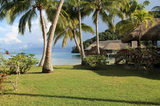 Royal Huahine : Autre vue de l'hôtel