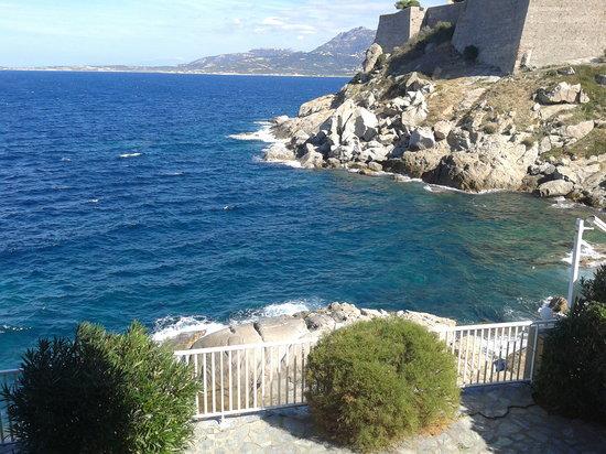 Hotel Saint Christophe : vue de notre chambre