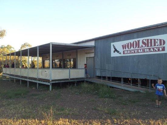 Rawnsley Park Station Eco Villas : Wooldshed Restaurant