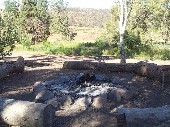 Rawnsley Park Station Eco Villas : Fire pit