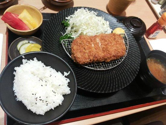Yabu House of Katsu: Soft rice